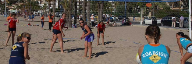 Volleyplaya en Benidorm