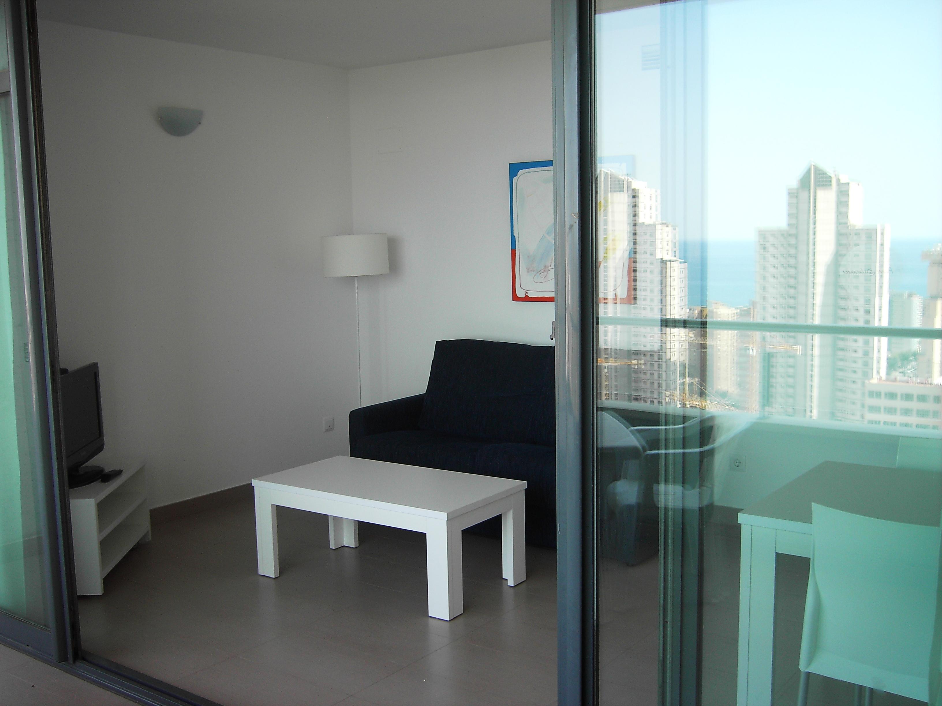 Salón desde la terraza