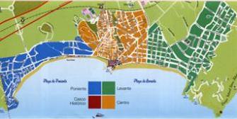 benidorm - mapa